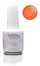 NIEUW! White Angel Orange Coral Gel Polish 15ml (oude verpakking)