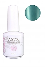 White Angel Blue Eclipse Chrome Gel Polish 15ml #02