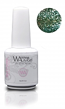 NIEUW! White Angel Diamond Sea Green Gel Polish 15ml