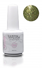 White Angel Diamond Light Green Gel Polish 15ml