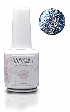 White Angel Diamond Light Blue Gel Polish 15ml