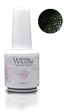 White Angel Dark Emerald Gel Polish 15ml