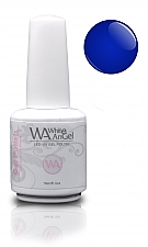 Blue Sapphire White Angel Gel polish