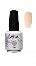 White Angel Puur Beige Rubber Base Coat 15ml #17