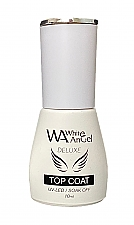 NIEUW! White Angel RUBBER Top Coat 10ml (with wipe)