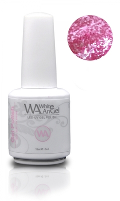 NIEUW! White Angel Diamond Pink Gel Polish 15ml