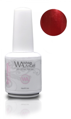 White Angel Ruby Red Gel Polish 15ml
