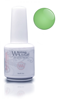Nieuw! White Angel Pale Green Gel Polish 15ml